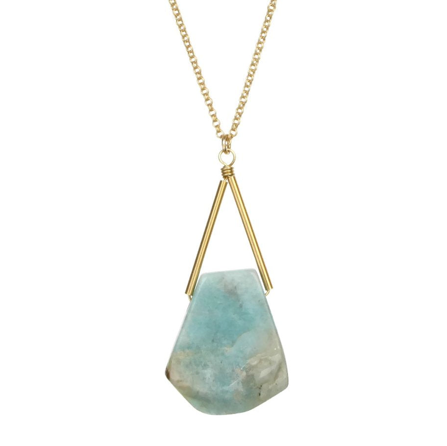 Toro Necklace - Amazonite