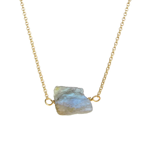 Zeeba Necklace - Labradorite
