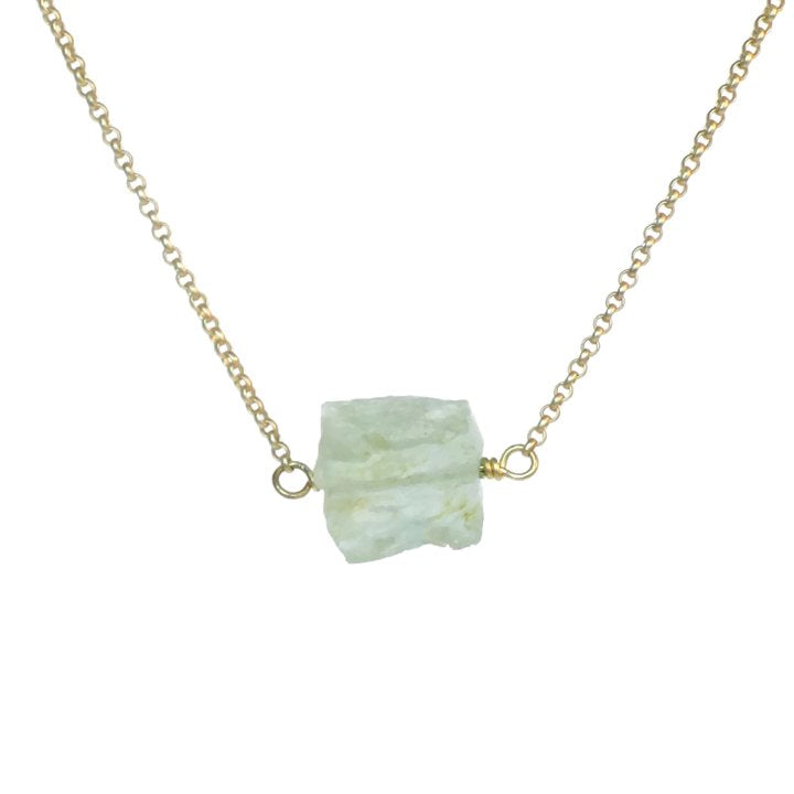 Zeeba Necklace - Aquamarine