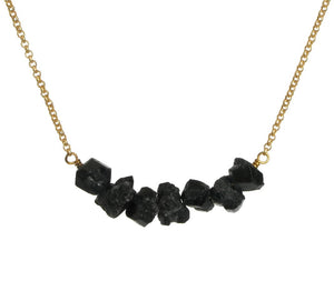 Donya Necklace - Black Tourmaline