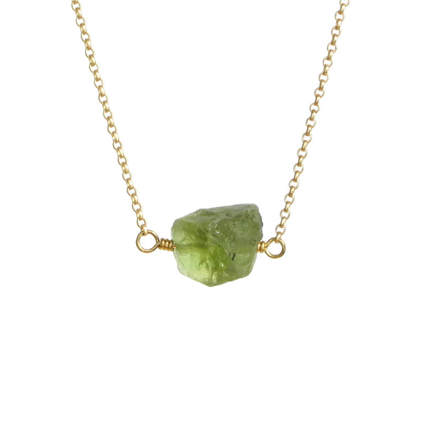 Zeeba Necklace - Peridot