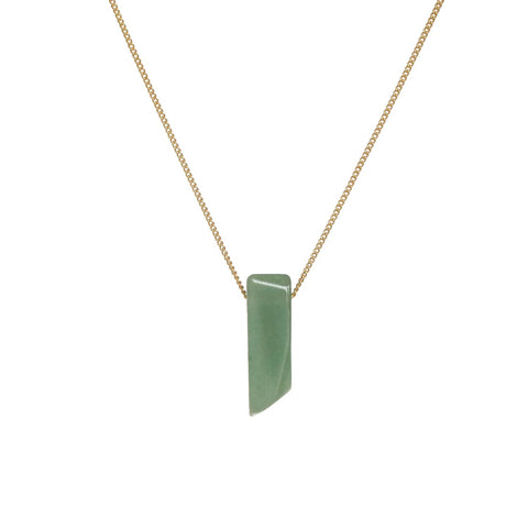 Slider Necklace - Adventurine
