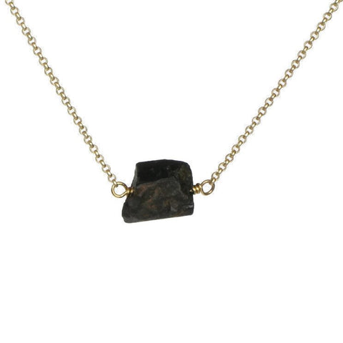 Zeeba Necklace - Black Tourmaline