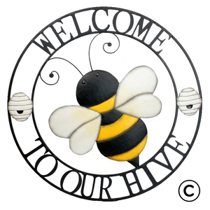 Home Comforts - Sign Welcome to our Hive