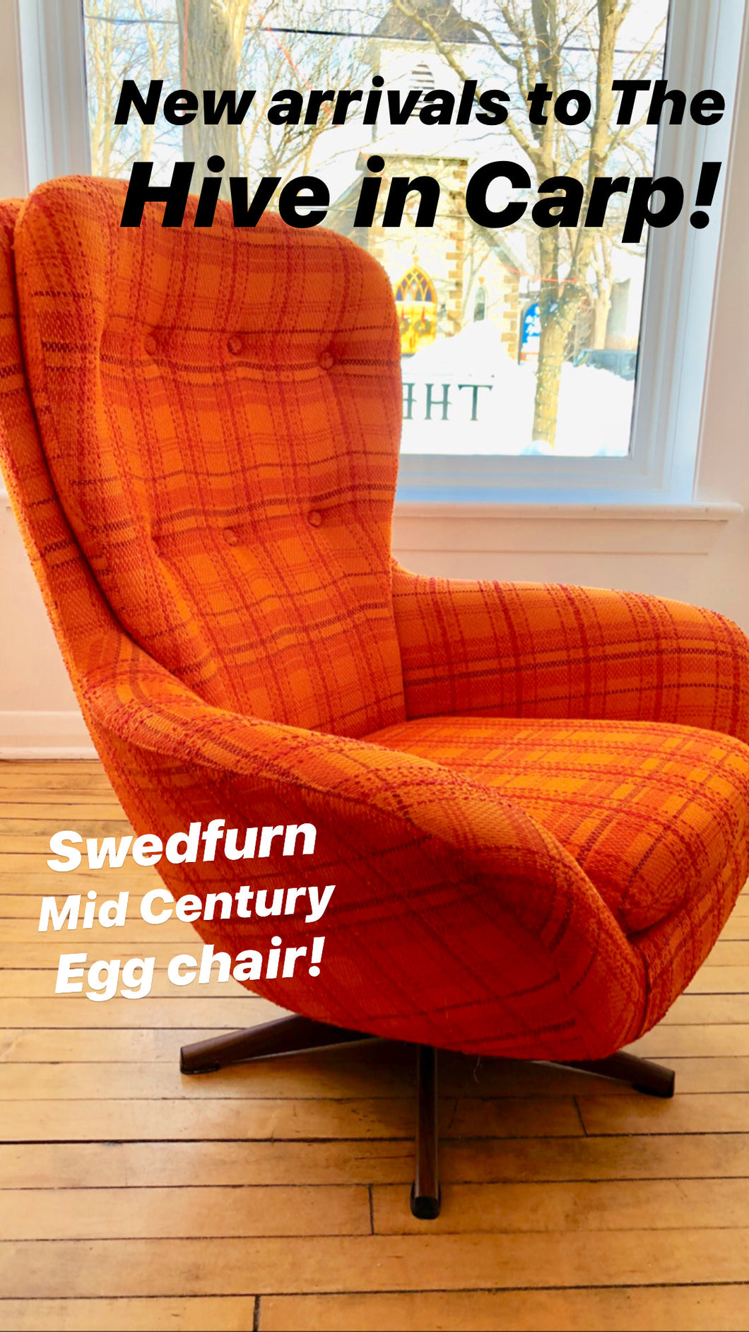 Mid Century Swedfurn Chair