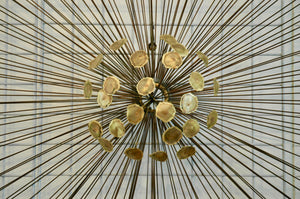 Mid Century Metal wall art