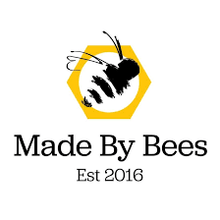 "Load image into Gallery viewer, Made By Bees Beeswax Wrap ""The Drone Bee"""