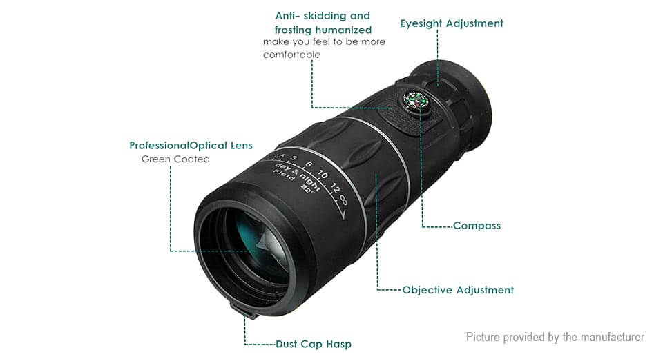 Hi definition monocular telescope tick tock