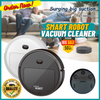 Smart Robot Vacuum Cleaner Auto Robotic Vacuums Strong Suction