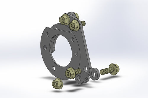 EEbrake bracket assembly