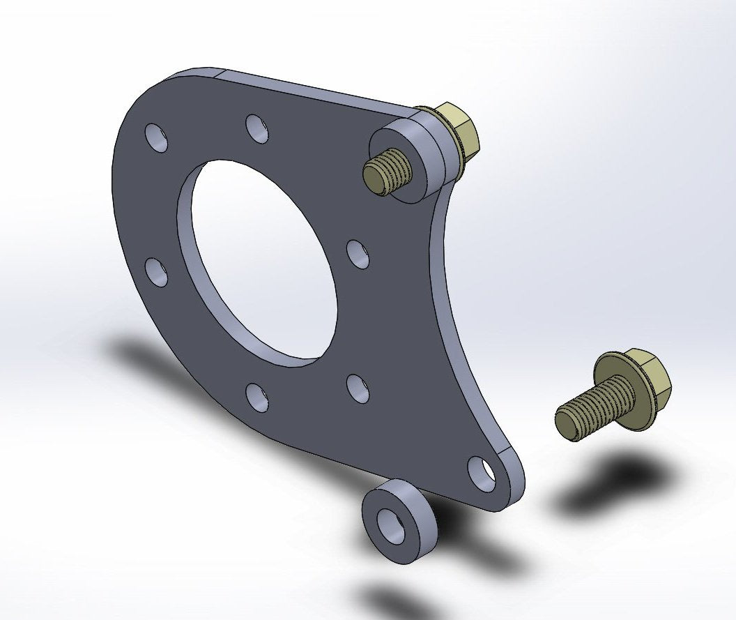 Trackick Disc Brake Conversion Bracket, One Pair