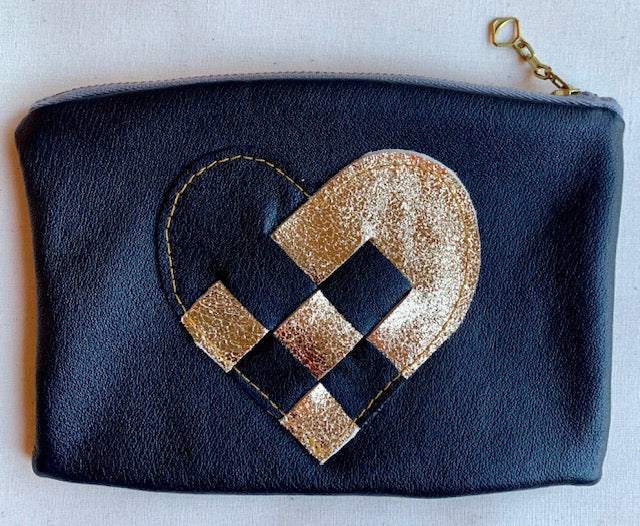 Love Pouch black/gold