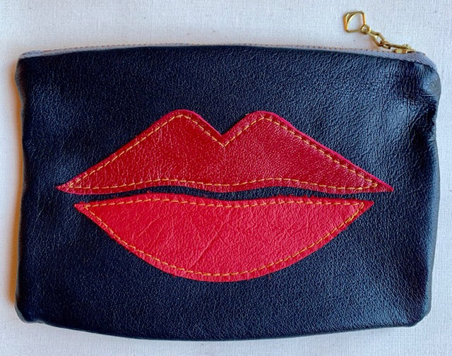 Lips Pouch red/pink