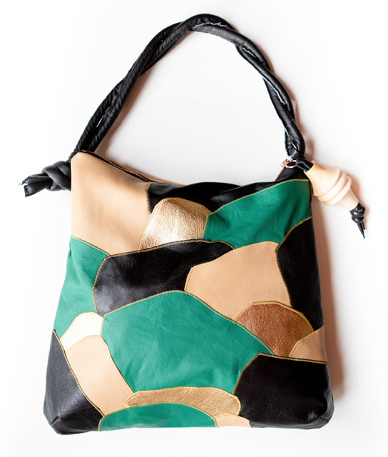 Patchwork Rolan Hobo Bag