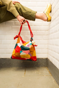 "Patchwork Rolan Hobo Bag ""Camo"""