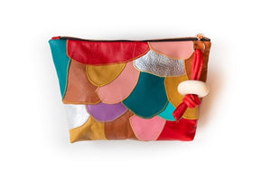 "Patchwork ""Confetti"" Clutch"