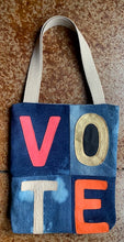 Esther Denim Tote VOTE