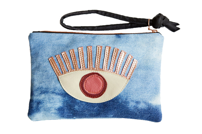 Conscious Eye Clutch Rose