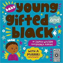 Load image into Gallery viewer, Baby Young, Gifted, and Black: With a Mirror!