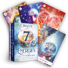 Load image into Gallery viewer, Oracle of the 7 Energies: A 49-Card Deck and Guidebook Cards