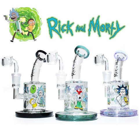 Rick And Morty Dab-Rig