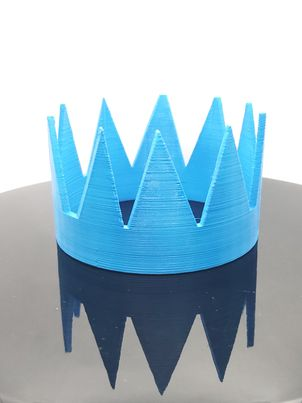 OSRS 3D-Printed: Blue Party Hat