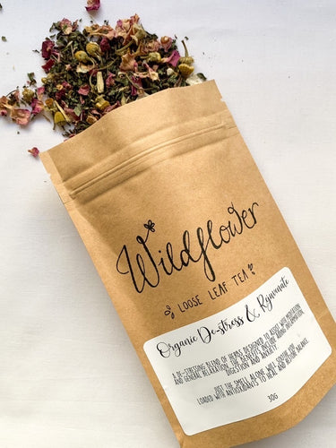 Organic De-stress & Rejuvenate Loose Leaf Tea
