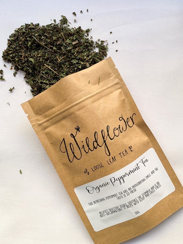 Organic Peppermint Loose Leaf Tea