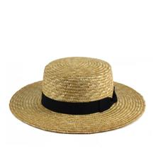 Load image into Gallery viewer, Fini. Straw Boater