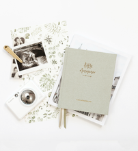 Load image into Gallery viewer, Little Dreamer - Baby Journal - SAGE GREEN