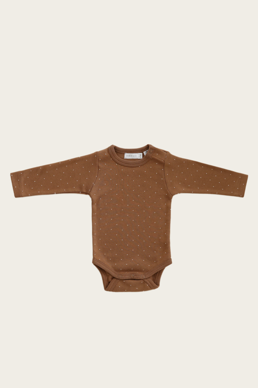 L/S Bodysuit - Tiny Dots