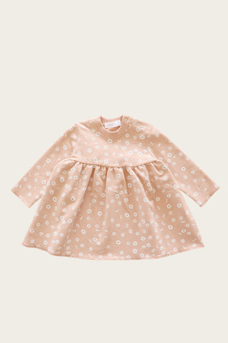 Charlotte Dress 3-6m - Daisy Print