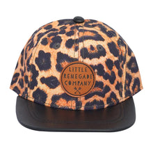Load image into Gallery viewer, Leopard Print Snapback Cap