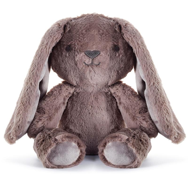 Byron Bunny Huggie - Stuffed Animals Plush Toys Earth Taupe Bunny