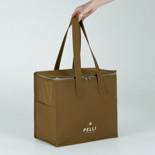 Load image into Gallery viewer, 'Chill Homie' Picnic Bag - Olive Calico