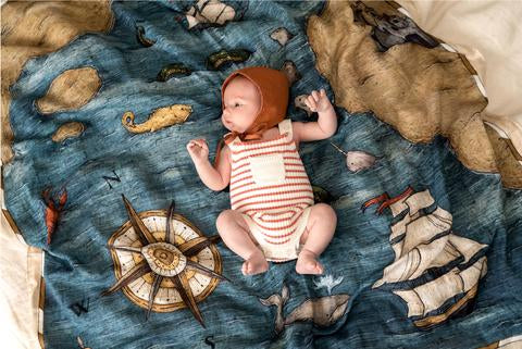 The Treasure Map Swaddle
