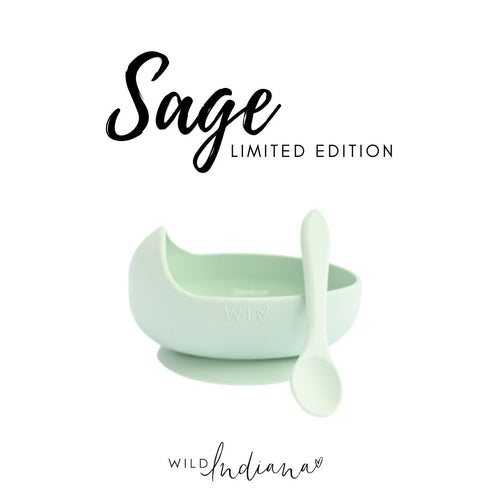 Limited Edition Silicone Bowl SAGE