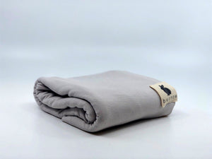 Satin Grey Bamboo Swaddle