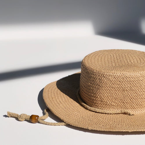 Parisian Boater Hat