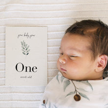 Load image into Gallery viewer, 'Grow' Eco-Friendly Baby Milestone Cards