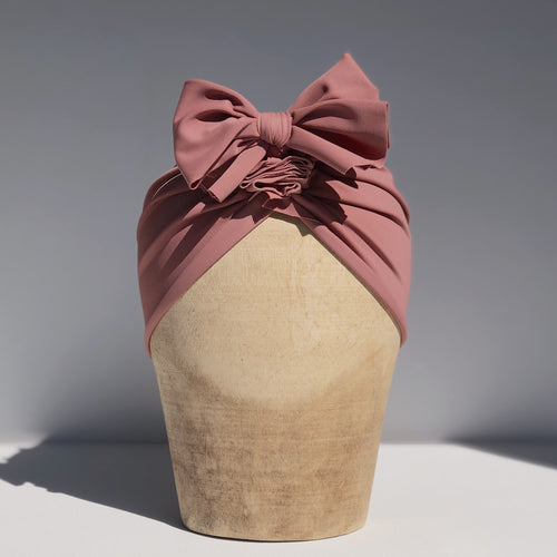 Fini. Headwrap - Dusty Rose