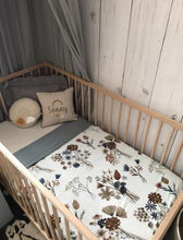 Load image into Gallery viewer, A Little Posy Reversible Cot Quilt