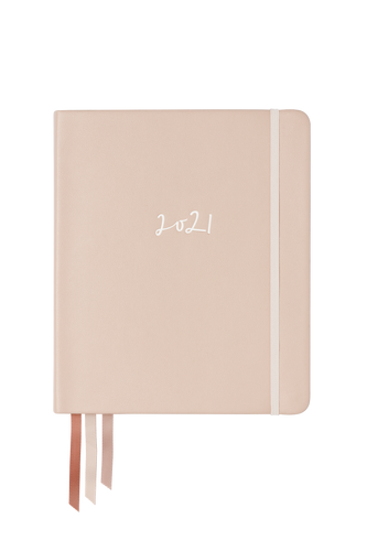 2021 Weekly Planner | Softcover | Marshmallow