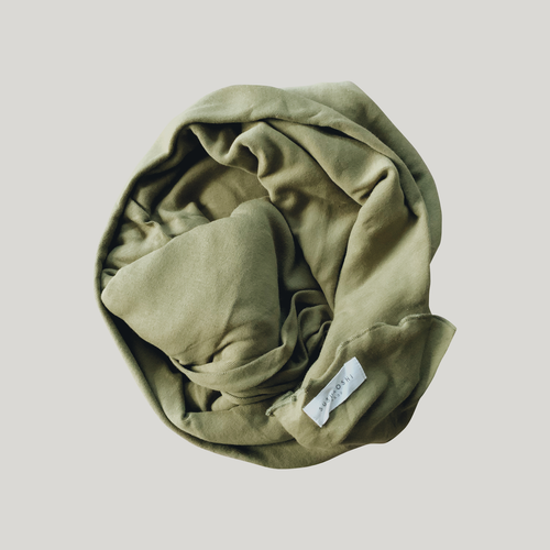 ORGANIC Swaddle Blanket - Leaf