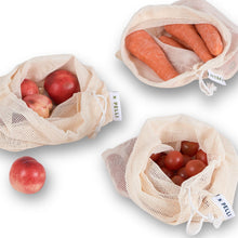 Load image into Gallery viewer, 'Surf the Net' Produce Bags - Pack of 3
