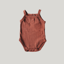 Load image into Gallery viewer, ORGANIC Tank Suit - Burnt Orange