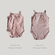 Load image into Gallery viewer, ORGANIC Tank Suit - Mauve