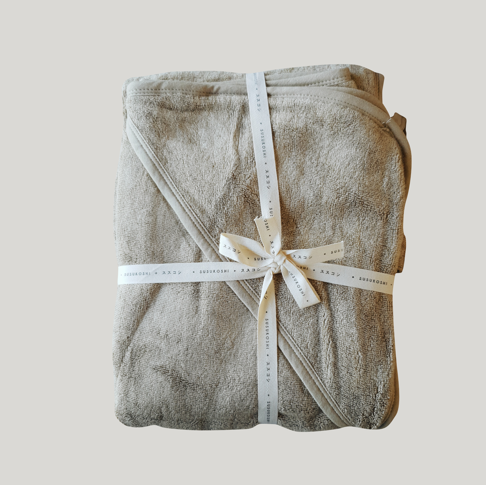 Baby Hooded Towel - Elm