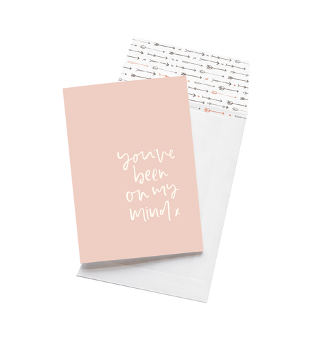 You've Been On My Mind - Greeting Card