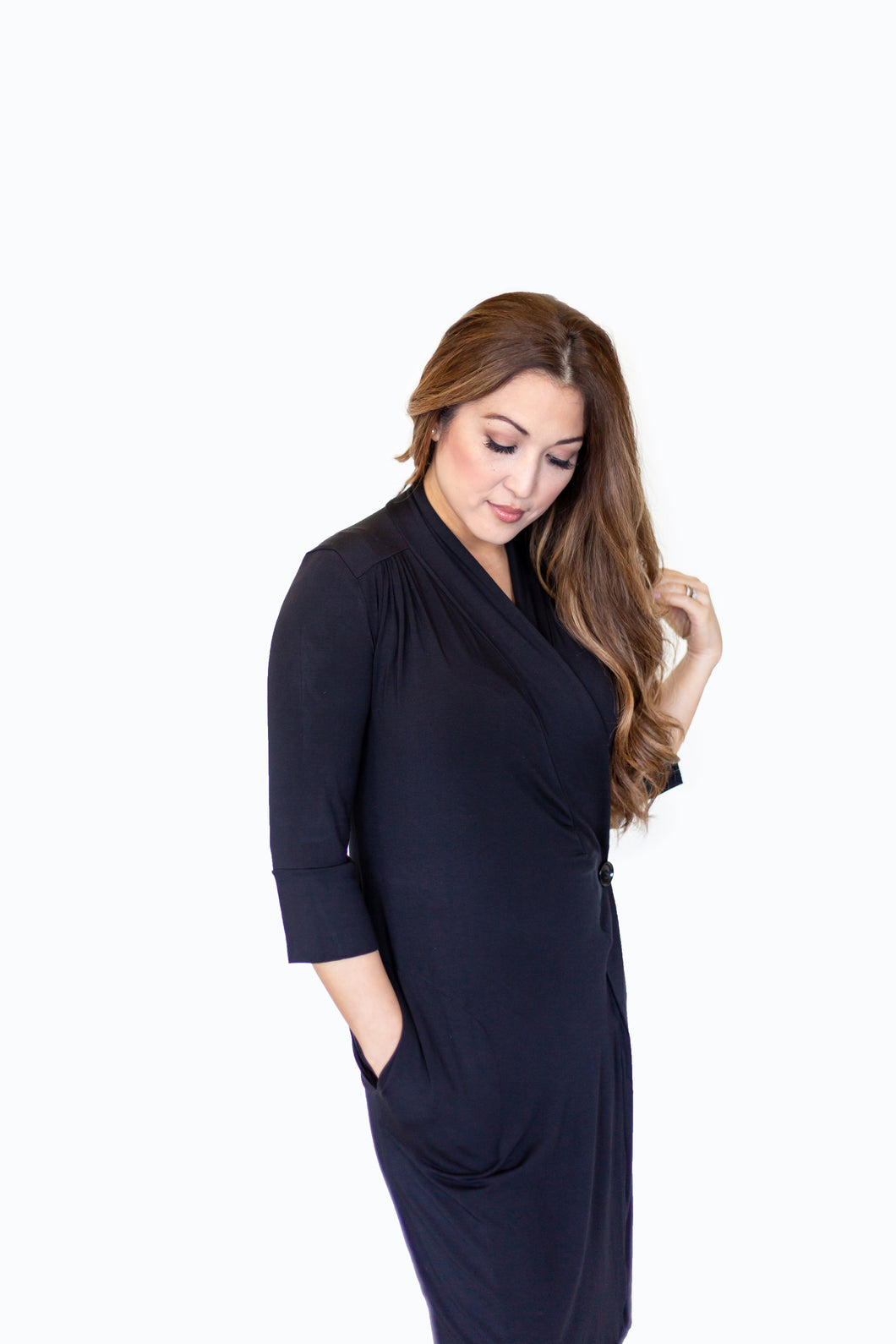 Robe Dress Black